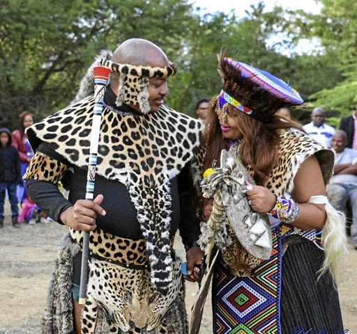 Princess Zama and prince Zulu are looking forward to their white wedding next year.