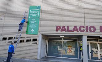 Vacunación masiva en Almería: Así avanza el Palacio de los Juegos