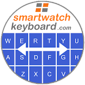 Smartwatch Keyboard for (Android) Wear OS.