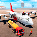 Airplane Oil Tanker Truck Transporter Game icon