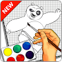 How to Draw KungfuPanda - Easy APK icon