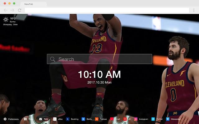 NBA 2K19 HD New Tabs Popular Games Themes
