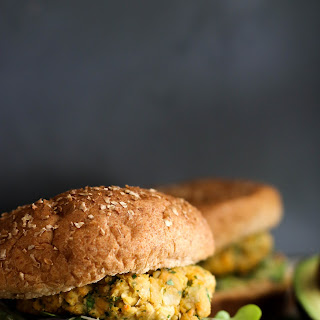 Chickpea Sweet Potato Burgers (V&GF) Recipe