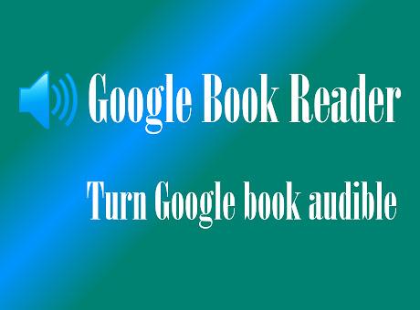 TTS Reader for Google Books