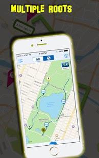 GPS navigace: můj vyhledávač tras - náhled