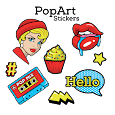 Pop Art Stickers - WAStickerApps icon
