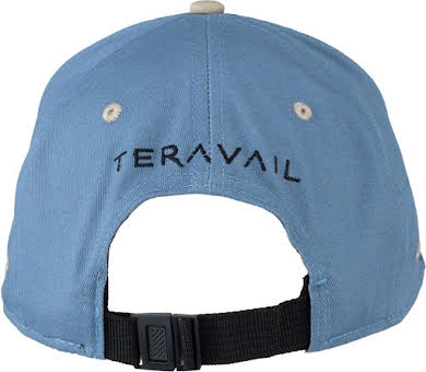 Teravail 7-Panel Cap: Turquoise/Dark Gray One Size alternate image 1