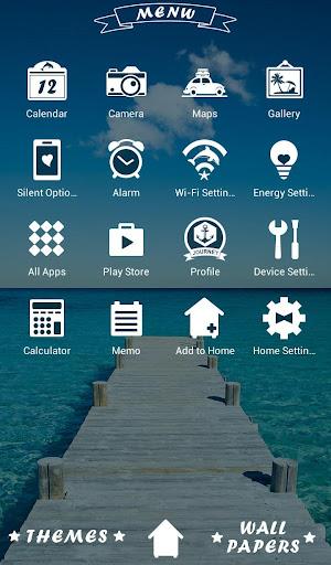 Beautiful Wallpaper Dock to the Sea Theme 1.0.0 Windows u7528 2