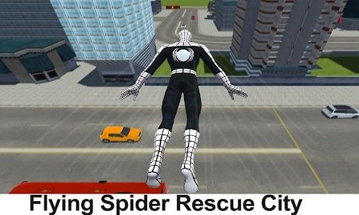 Letící Pavouk Hrdina 3D: Nový Soused Přežití Hra - náhled