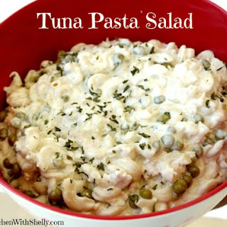 Easy Tuna Pasta Salad.