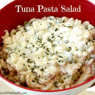 Easy Tuna Pasta Salad.