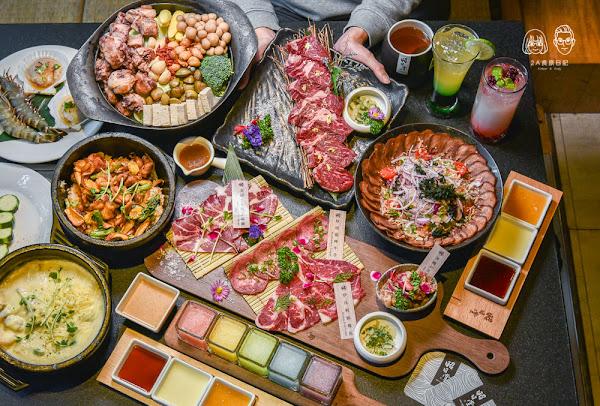 昭日堂燒肉:台中南屯區美食-2020新菜單,吃得到火鍋的日式燒肉店,裝潢磅礡氣派適合慶生、情侶約會!