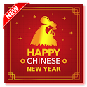 китайский новый год 2017 icon