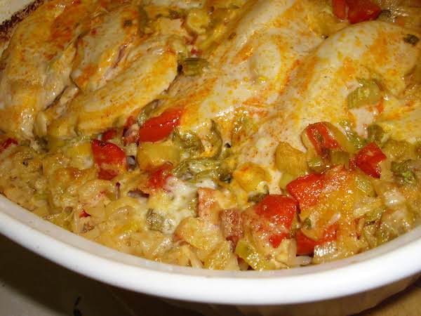 Creole Style Chicken And Rice