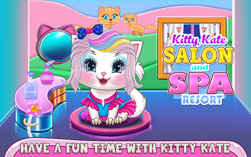 Kitty Kate Salon and Spa Resort APK MOD – Monnaie Illimitées (Astuce) screenshots hack proof 1