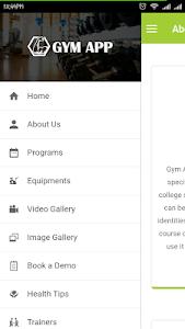 Gym App screenshot 2