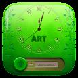 Lock Screen : Grass Art Text