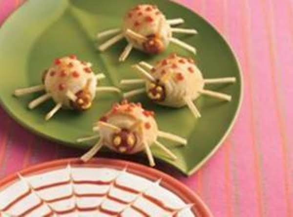 Bite-size Boo Bugs With Bug-catching Dip Recipe