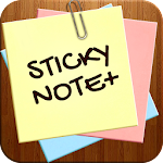 Sticky Note + : Sync Notes Icon