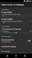 Screenshot of Nether Portal Live Wallpaper