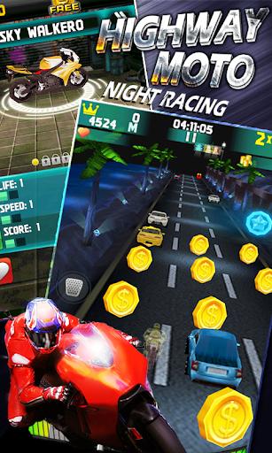 Highway Moto Night Racing