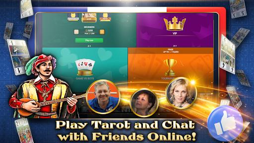 VIP Tarot - Free French Tarot Online Card Game 3.6.17 screenshots 2