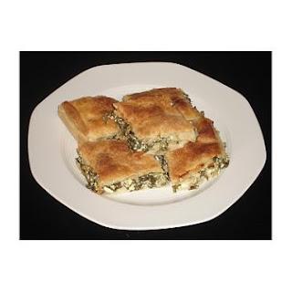 Greek Spinach Pie (Spanakopita).