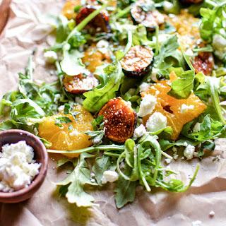 Caramelized Orange and Fig Salad