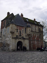 Photo: We move along to Honfleur, sometimes called the Jewel of Normandy, and a very popular tourist spot. It was also a central gathering spot for Romantic and Impressionist painters, and continues its strong artistic traditions to this day. Here we see La Lieutenance, what remains of the 16th century home to the king's Governor of Honfleur.