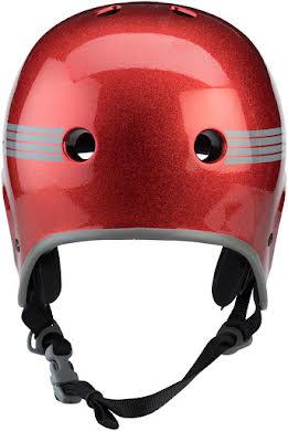 Pro-Tec Full Cut Helmet: Red Flake alternate image 1