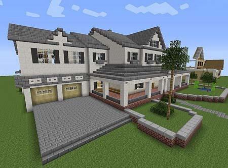 350 Modern House for Minecraft 1.0 screenshots 1
