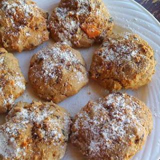 Sweet Potato Chocolate Chip Cookies.