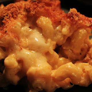 Baked Macaroni & Cheese.