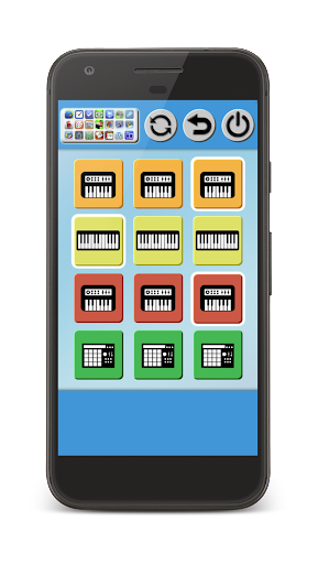 Band Game: Piano, Guitar, Drum Screenshot