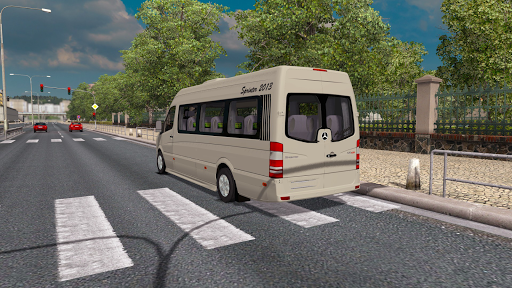 Sprinter Bus Transport Game modavailable screenshots 1