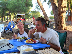 Photo: Jim LOVES tacos!