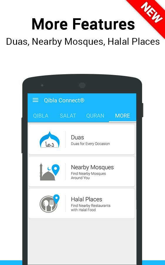 Qibla Connect® Find Direction- screenshot