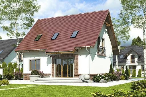 projekt Sosnówka II bez garażu B