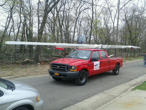 Photo: We go to Great Lengths to make sure we get the job done!!! (56' gutter, new company record., Cops not too thrilled)