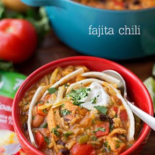 Fajita Chili with Knorr Rice Sides