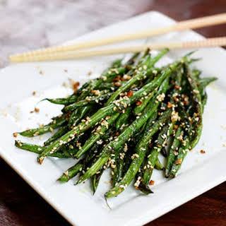 Sesame Garlic Green Beans.
