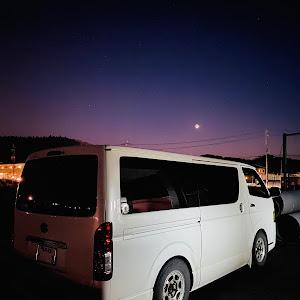 ハイエース  4型 のカスタム事例画像 真さんの2021年01月15日21:30の投稿