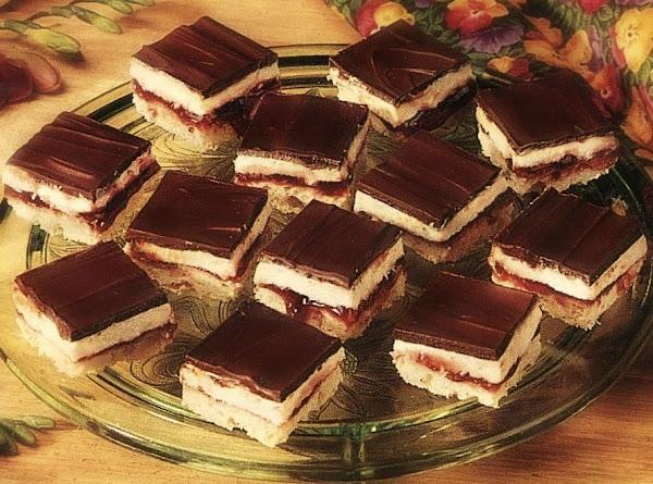 Chocolate Raspberry Bars Recipe
