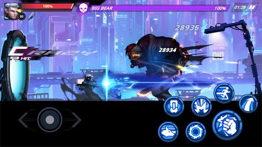 Cyber Fighters: Legends Of Shadow Battle 0.2.2 screenshots 3