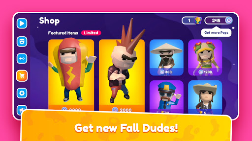 Fall Dudes (Early Access) apktram screenshots 3