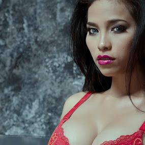 am I sexy by Arief Saputro - People Portraits of Women