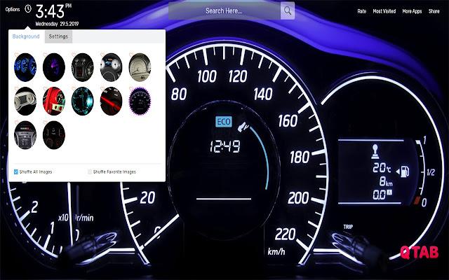 Speedometer Wallpapers HD Theme