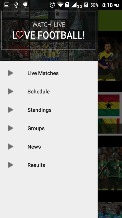 7 Score - AFCON 2017 Live- screenshot