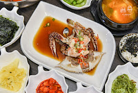 蝦拼鍋,韓式醬油螃蟹
