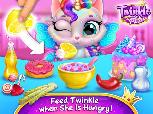 Twinkle - Unicorn Cat Princess screenshots 12